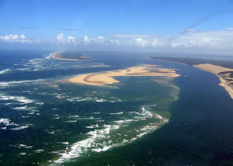 Arcachon Bay Aerial View
