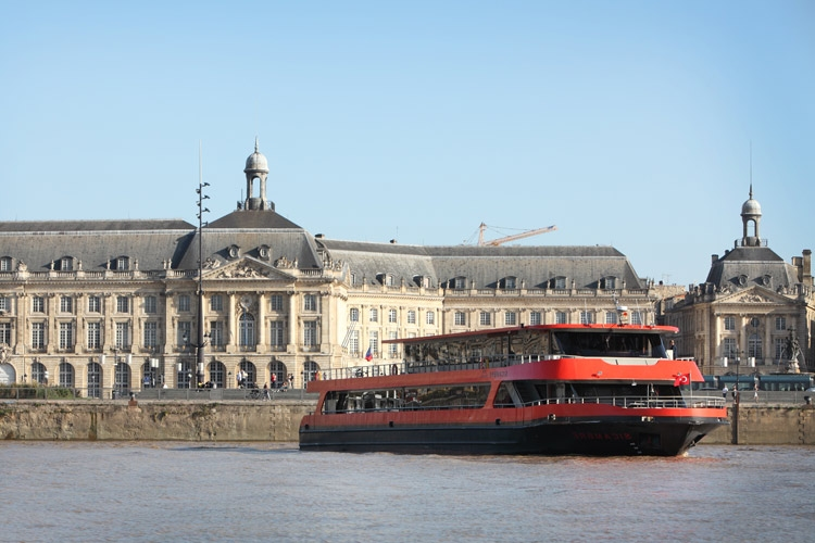 River cruise tour boat