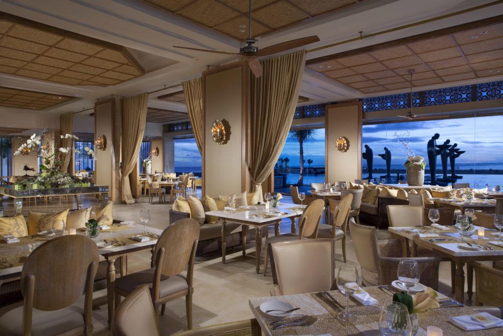 mulia bali resort soleil restaurant
