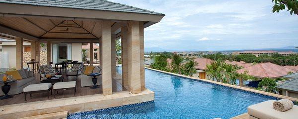Mulia villas bali pool view